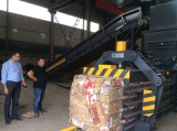 Dubai customer on-site test machine