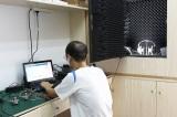 acoustics test machine