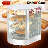 Curved Glass Food Warmer