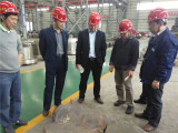 Customer visit factory