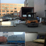 Powder Coating Line Loading From Our Factory to Myanmar