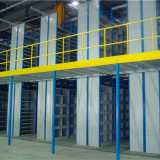2 floors shelving system for small parts
