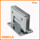 What different for the zamac shower door hinge and stainless steel hinge