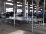 scaffolding erect