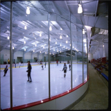 transparant polycarbonate sheet for ice rink hokey walls