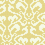 Art Mosaic Pattern-Damasco Cream