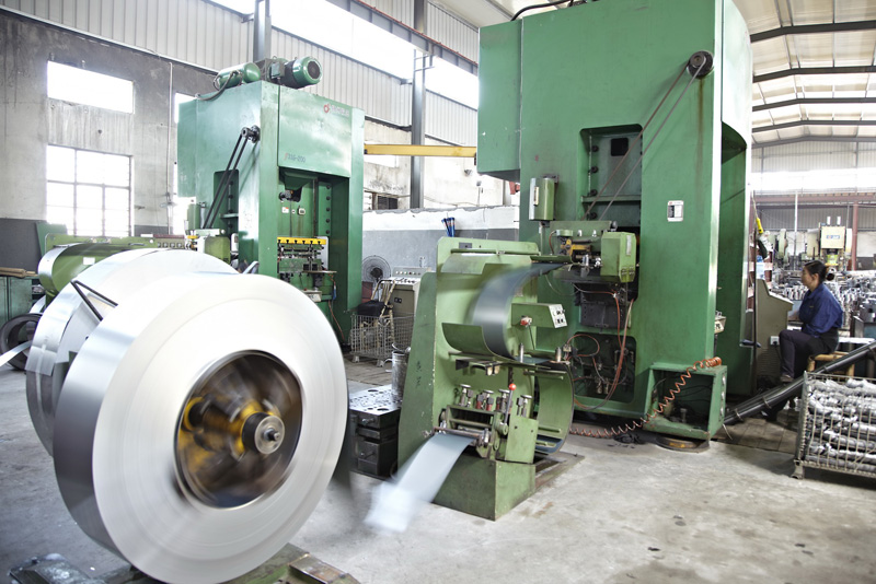 2. Automatic high-speed pressing