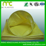 PVC film for air duct