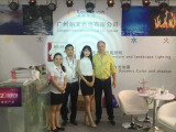Our customer in the exhibition