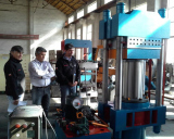 Rubber Tile Making Machine (Rubber tile vulcanizing machine)