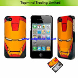 Mobile Phone Accessories Iron Man Mask Back Case for iPhone 4g 4s