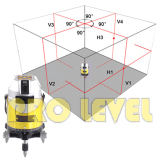 4V1H3D Electronic Auto-Leveling Laser Level (ECHO-678P)