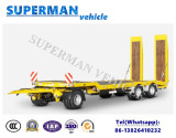 Lowdeck Lowbody Drawbar Full Dolly Trailer/ Lowbed Trailer