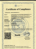 RoHS Certificate for LED Light