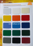 Color Chart - Solid colors