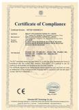 Certificate LED Bulb CE EMC