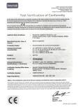 MCB certificate