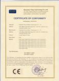 (LVD)EDS-V300 CE certificate