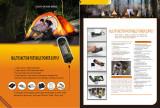 Multi-Function Portable Hand Crank LED Torch Light