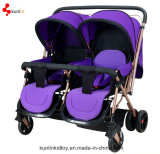 fashion pram for twin baby
