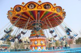 Flying chairs - popular amusement park equipment