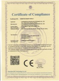Intelligent HD IR PTZ Camera CE Certificate