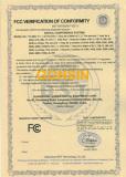 FCC Certificate -1
