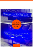 P10 Indoor Single Blue LED Screen Display Panel