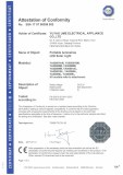 CE certificate for lights