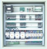 relay AC 2 speed control cabinet