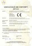 S800 Series Certification