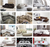 leather sofa for home or hotel