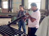 Indian Client Visit for Gypsum Plaster Powder Line