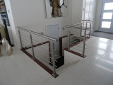 stainless steel cable railing baluster for inner house project in Canada