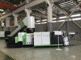 PP PE film/bags Recycling Granulating Extrusion Machine