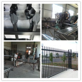 Security spear top fence panels Production Process