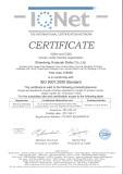 ISO 9001:2008 STANDARD CERTIFICATE