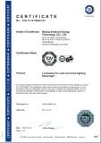 TUV_GS_CE Certificate for LED STREET LIGHT