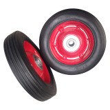 """6 INCH 6""""X1.5"""" SOLID RUBBER WHEEL"""