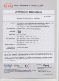 YE2 Certificate of Compliance