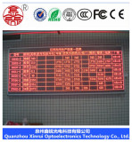3.75 Indoor 304mmx152mm display module single color 16 Scanning