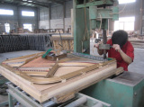 Making mold of grand piano