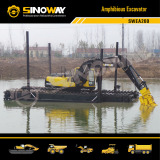 Sinoway New Amphibious Excavator Launched