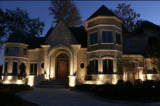 Low voltage LED light for outdoor lighting