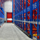 mobile pallet rack for freezed food storage