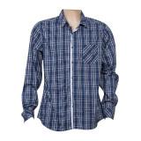 Long Sleeve Checkered Men′s Cotton Shirts