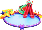 Inflatable Water Dragon Park, Inflatable Water Toys, Inflatable Aqua Water Games