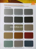 Color Chart - Metallic Colors