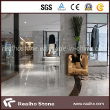 White & Grey Marble Floor Tile Projects for Shopping Mall Center