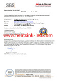 SGS Certification QIP-ASI162457